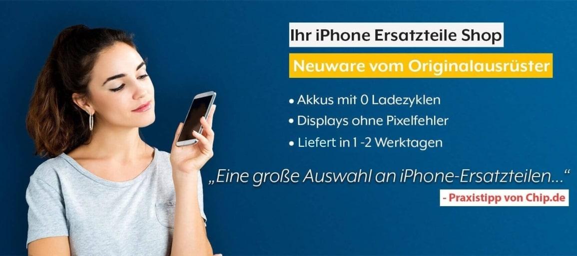 iPhone Ersatzteile Shop Banner NEU