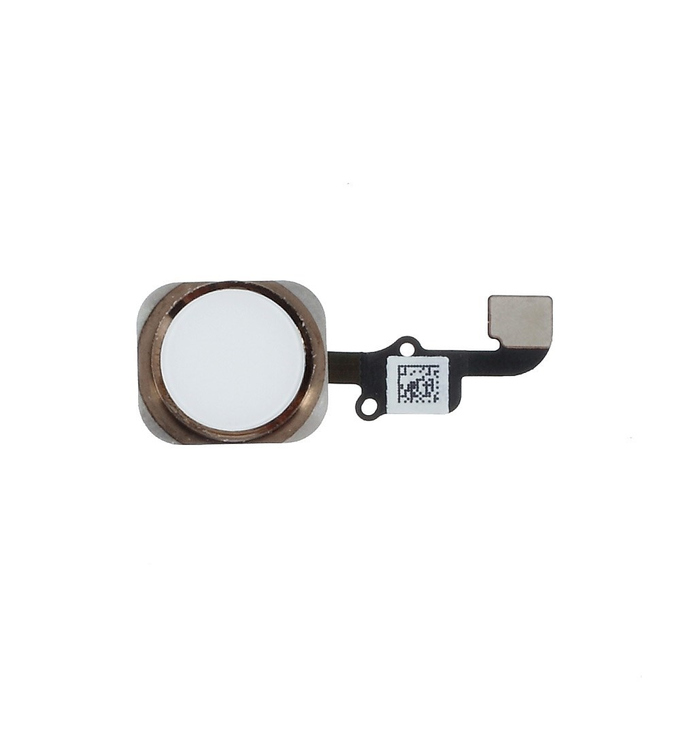 iPhone 6 Home Button Komplettset gold