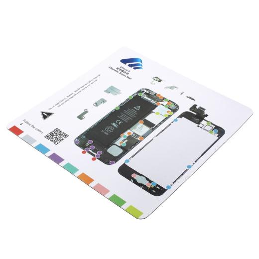 iPhone 5 Magnet Schrauben Vorlage kaufen & einfach selber reparieren ...