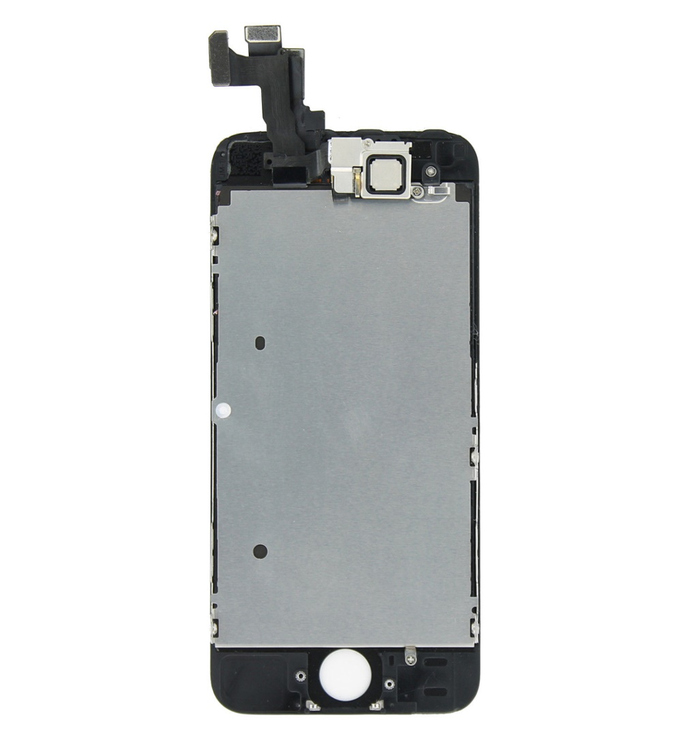 Display für Apple iPhone 5S Komplett Set in schwarz